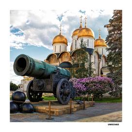 Царь пушка Московский Кремль