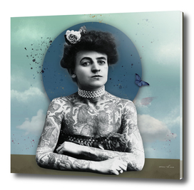 woman tatoo