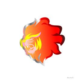 Lion Fiery