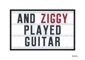 Ziggy played - Lightbox