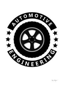 automotive engineering text with tire image