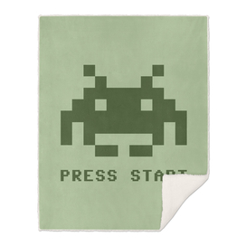 Space Invaders monochrome