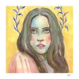Bohemian Woman Portrait