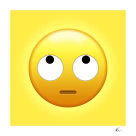 Emoji Eye Roll
