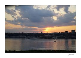 A sunset sail on the Hudson