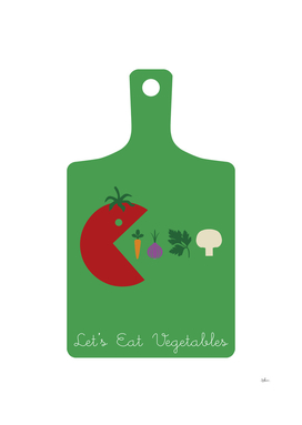 LET'S EAT VEGETABLES