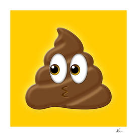 Poo Emoji | Oh Shit! | Pop Art