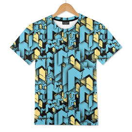 EDM Up Signature Halftone Men's T-Shirt
