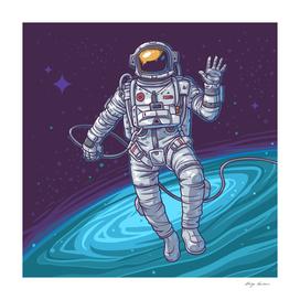 Ilustration astrounot