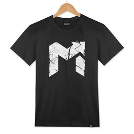 EDM Up Peeling Sticker Halftone Classic T-Shirt