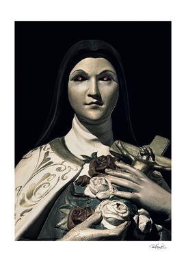 Evil Nun Dark Portrait