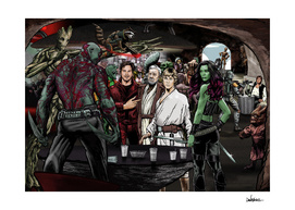 Guardians In A Galaxy Far Far Away
