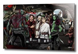 Guardians In A Galaxy Far Far Away