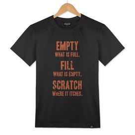 EFS Black Rust Classic T-Shirt