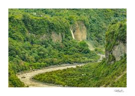 Amazonia Landscape, Banos, Ecuador