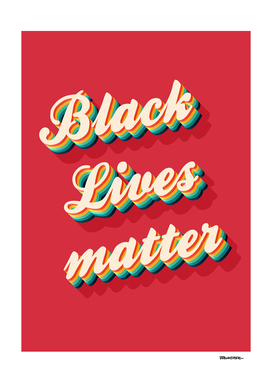 BLACK Lives Matter - Color