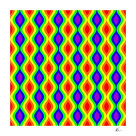 Pride Rainbow Pattern #2