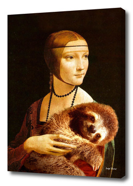 Lady with a Sloth