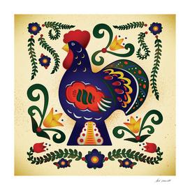 Dala Rooster Art
