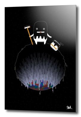 My Planet_Black Paint