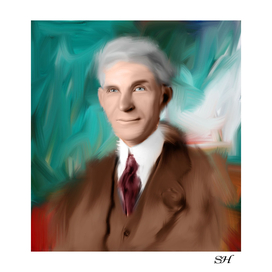 Digital Painting Henry Ford