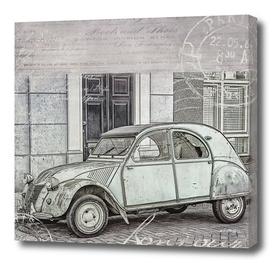 2CV Retro Car