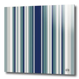 Vintage blue vertical stripes pattern