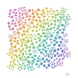 Rainbow Abstract Animal Print