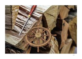 Whittled Wheel