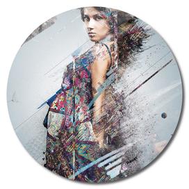 The fashion girl