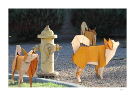 Origami Guards