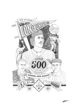 MIKE SCHMIDT 500 HR