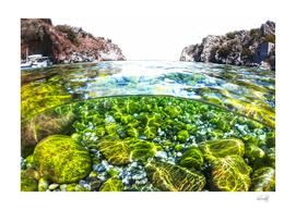 PARADISE BEACH IN GREECE