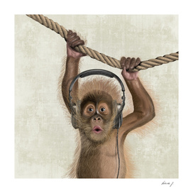 I love Music! Monkey
