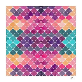 Watercolor Lovely Pattern VI
