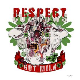 Respect Cuz Cows Got Milk (head and banner)