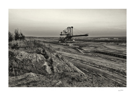 Welzow, Coal Mine Impressions from germany