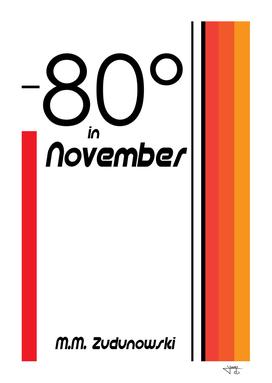 80 degrees in November