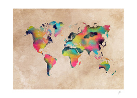 world map 32