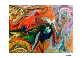 Erosion I - Fluid Art 1