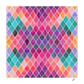 Watercolor Geometric Patterns II