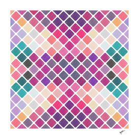 Watercolor Geometric Patterns III