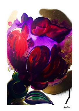 Purple Poppie Flowers Maybe?