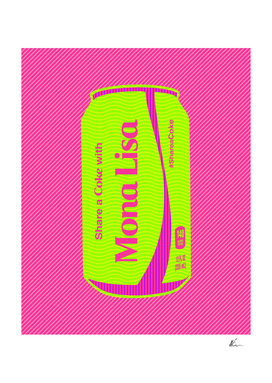Share a Coke with Mona Lisa | Coca Cola | Pop Art