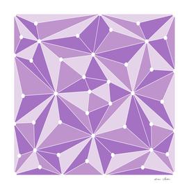 Abstract geometric pattern - purple.