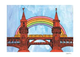 Rainbow Oberbaum Bridge