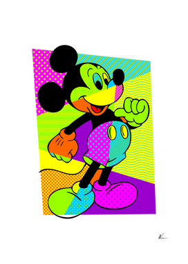 Mickey Mouse | Pop Art