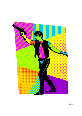 Han Solo | Star Wars | Pop Art
