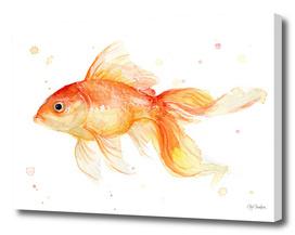 Goldfish Watercolor