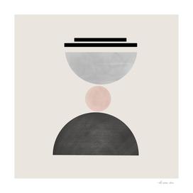 Hourglass Abstract Geometric